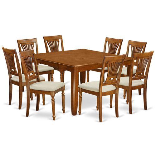 parfait 9 piece dining set house plans dining furniture sets rh pinterest com