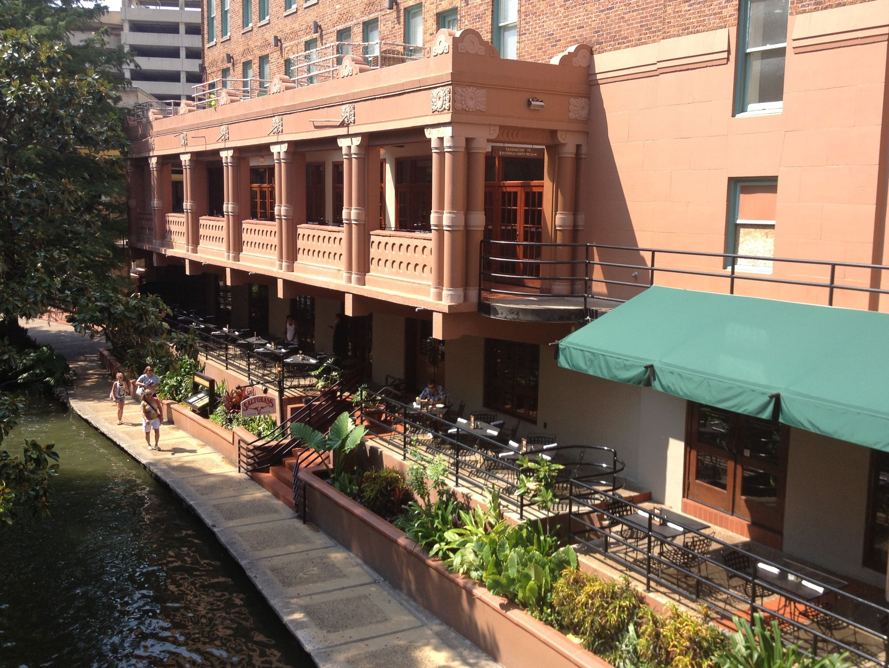 Good Saltgrass Steak House On The San Antonio Riverwalk. Balcony On Second Floor  Seated / 50 Reception). Raised Patio Seating Below Also Available For  Private ...