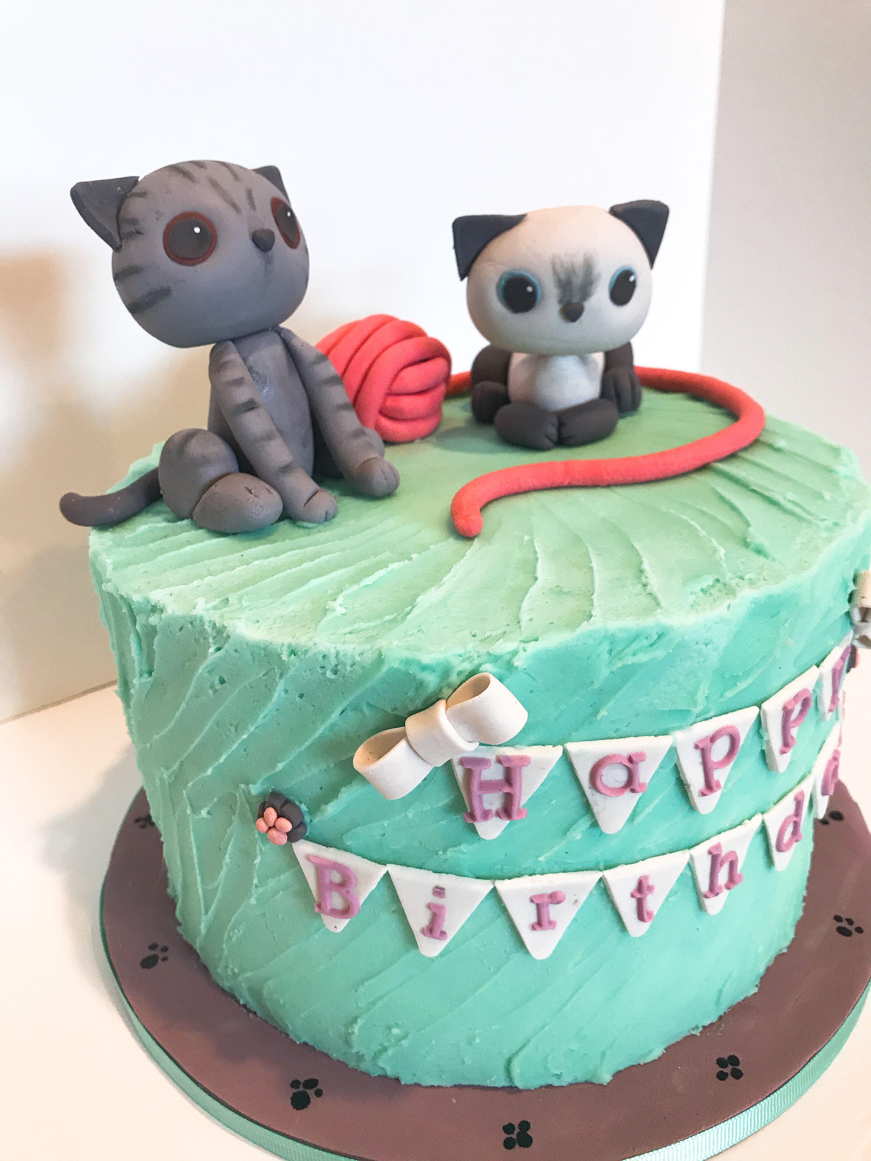 Kitten cake kitten cake cake custom cakes