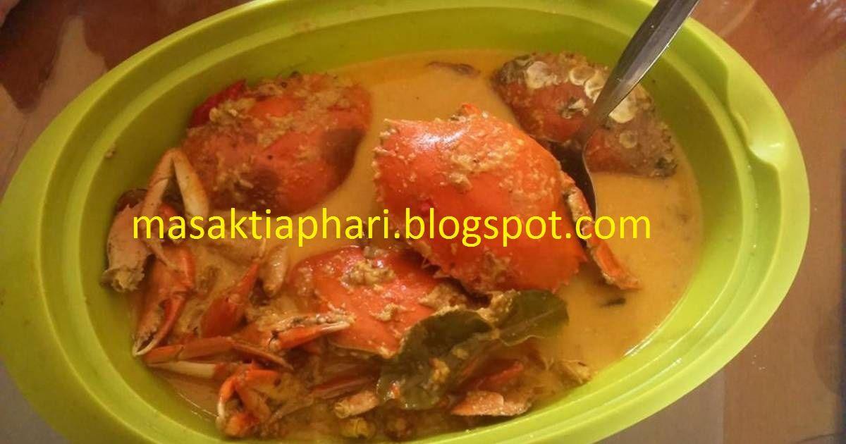 Resep Kare Kepiting Resep Seafood Makanan Resep Masakan