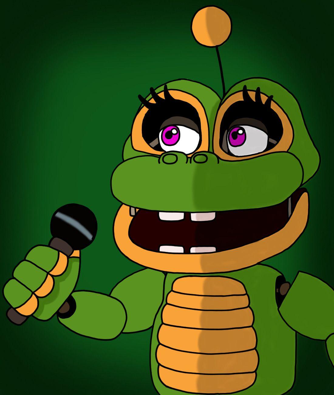 fnaf 6 fnaf five nights at freddy's frog animatronic happy ribbit