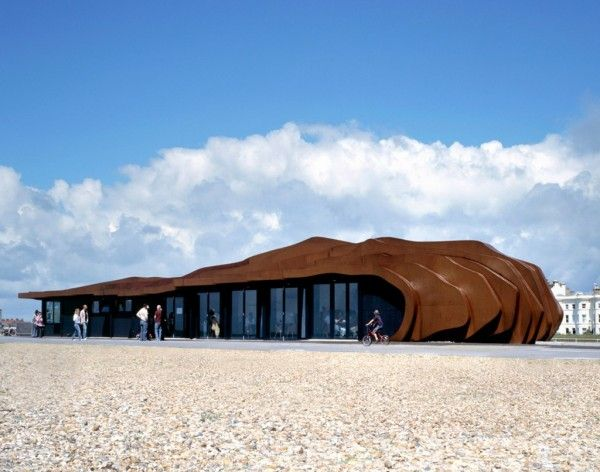 Beach Cafe in Littlehampton by Heatherwick Studio