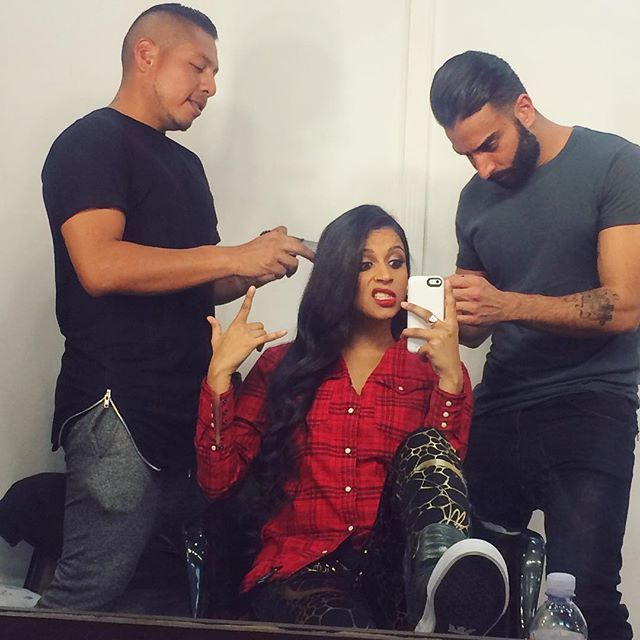 Lilly's Insta ~ Yes please. Ill take all the handsome men werking on me #bestjobever