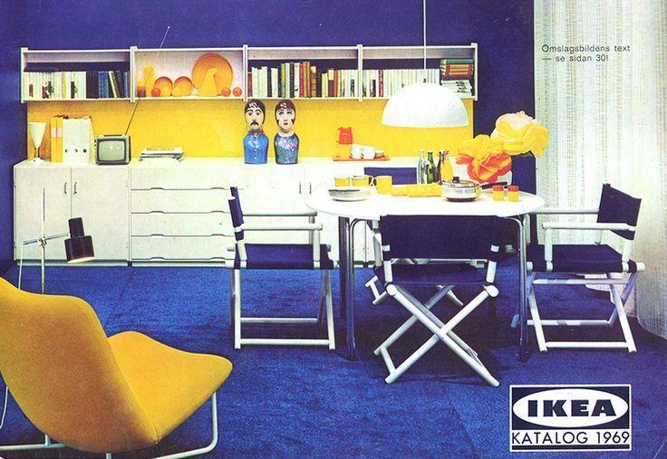 1969 Ikea Catalog · Furniture AdsVintage FurnitureFurniture RetailersLarge  ...