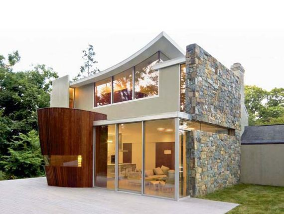 awesome small houses love the style - Little House Plans
