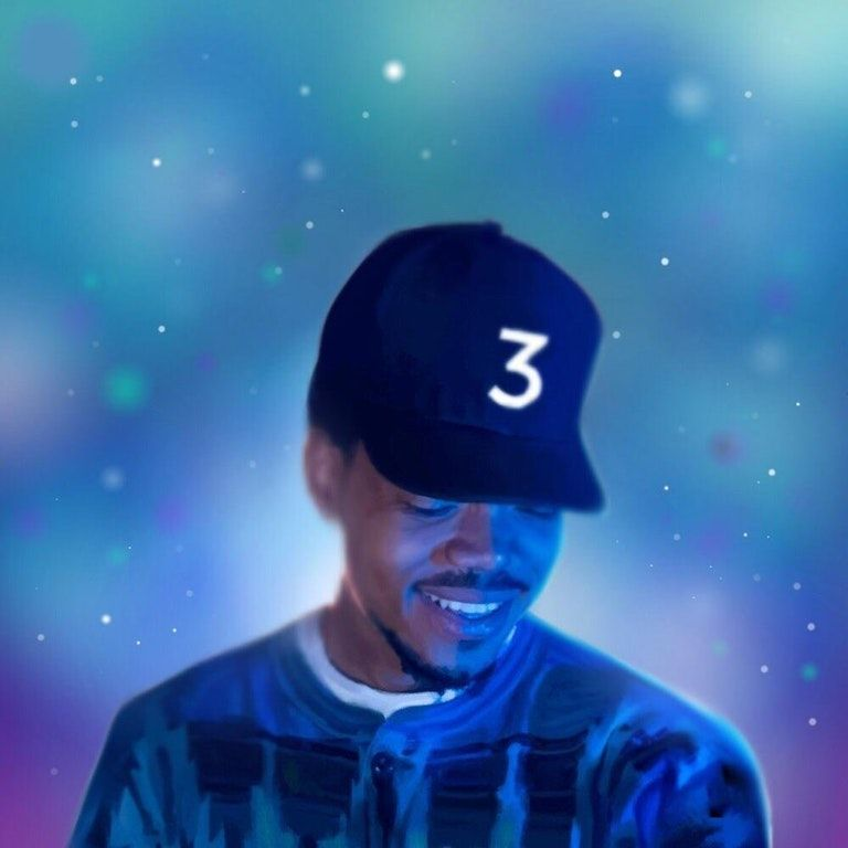 Chance The Rapper Coloring Book 1000x1000 Freshalbumart