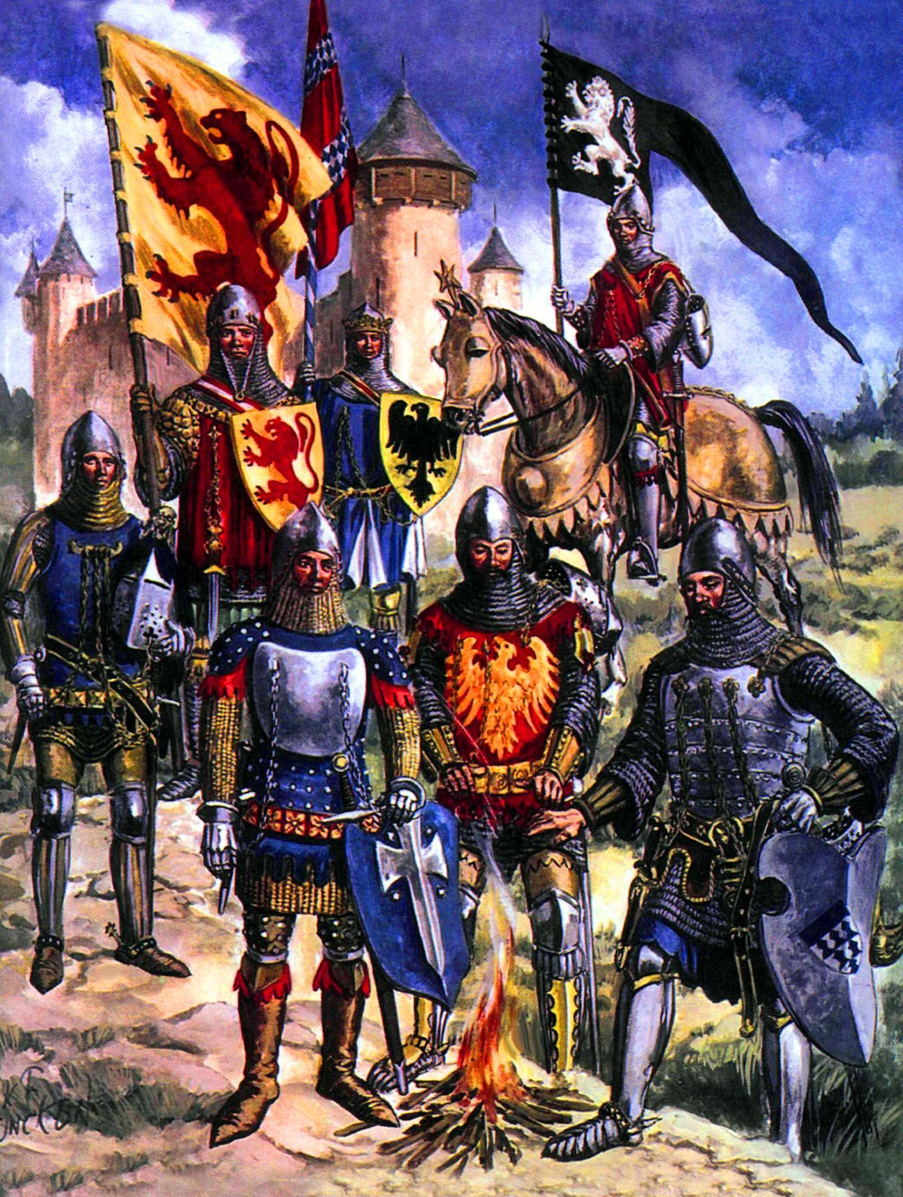 English Knights During The Hundred Years War
