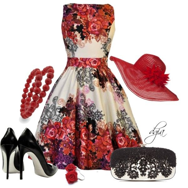 We're off to the races with this Derby inspired look! Great for Pure Romance's Night at the Races Opening Party at National Training in Cincinnati!