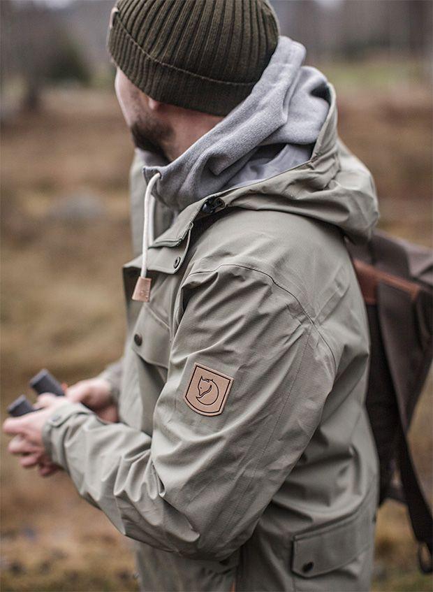 Fjällräven Övik Eco Shell Jacket | Mens fashion rugged, Mens