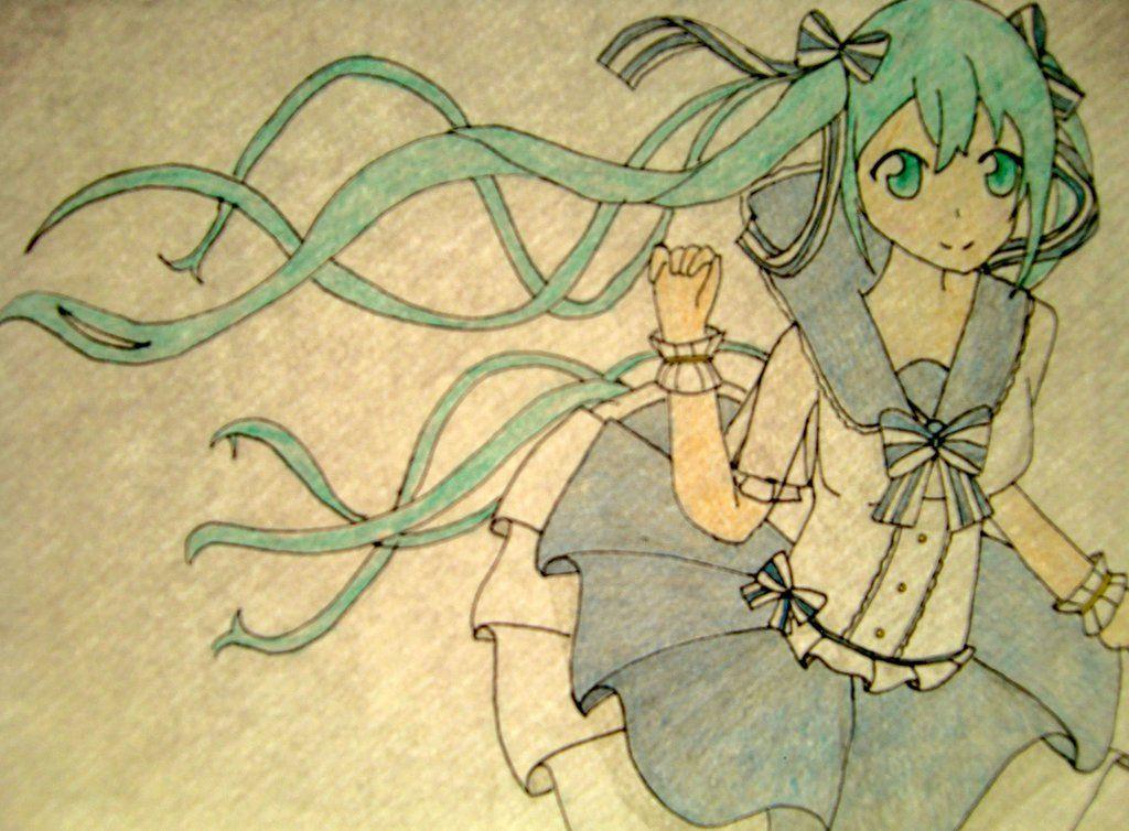 Hatsune Miku by lindepet.deviantart.com on @DeviantArt