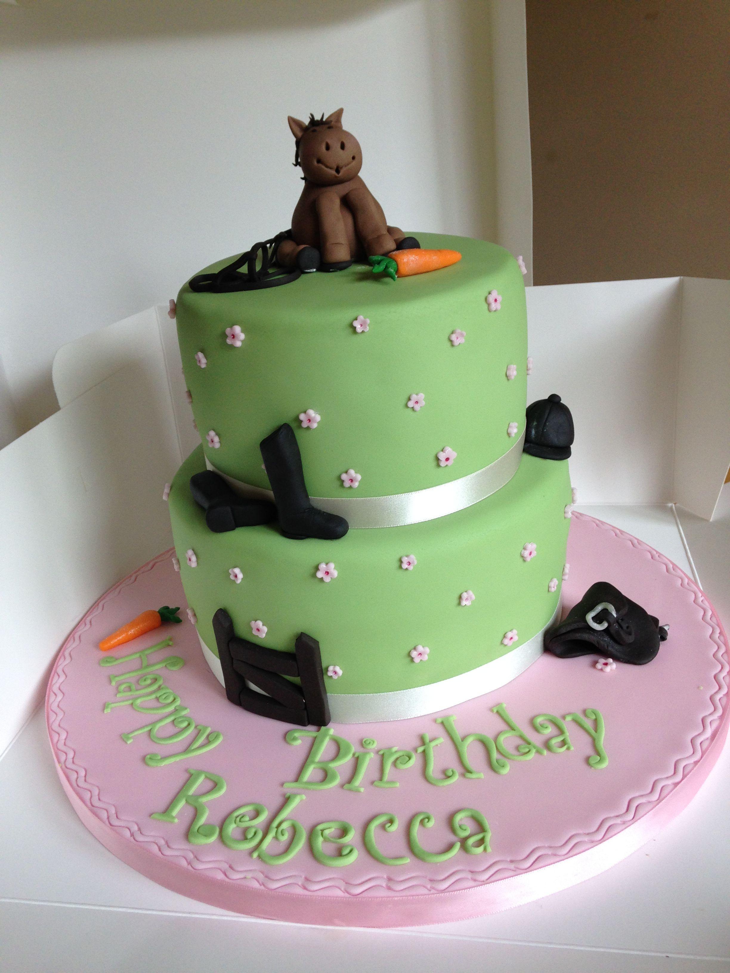 Children S Birthday Cake Ideas Horses Childrens Birthday Cake Ideas