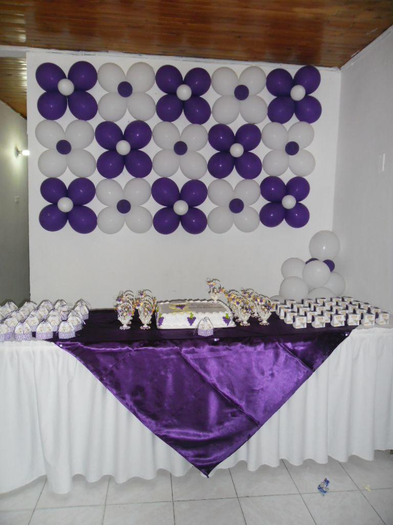 Decoracion mesa principal primera comunion fiestaideas - Decoracion de mesa para comunion ...