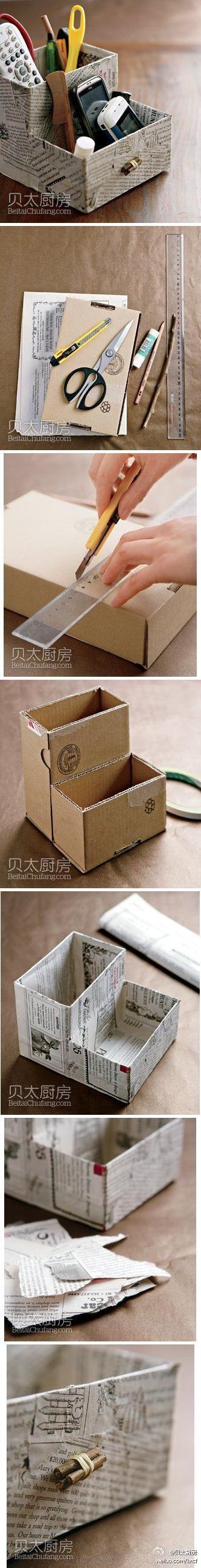 Brown Vintage Multicolor Book Tissue Box Cover Paper Holder 0320 Blue