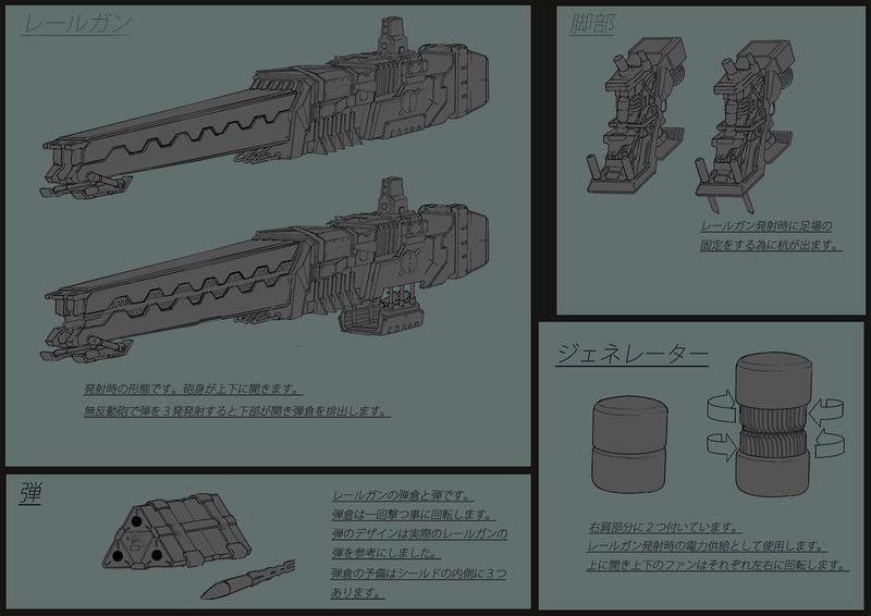 ArtStation - Mecha ConceptDesign, Takeshi Yoshida