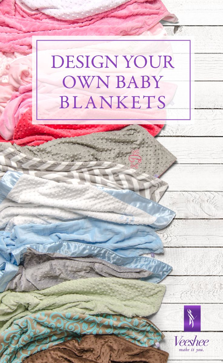 design your own baby blankets online choose from super soft minky