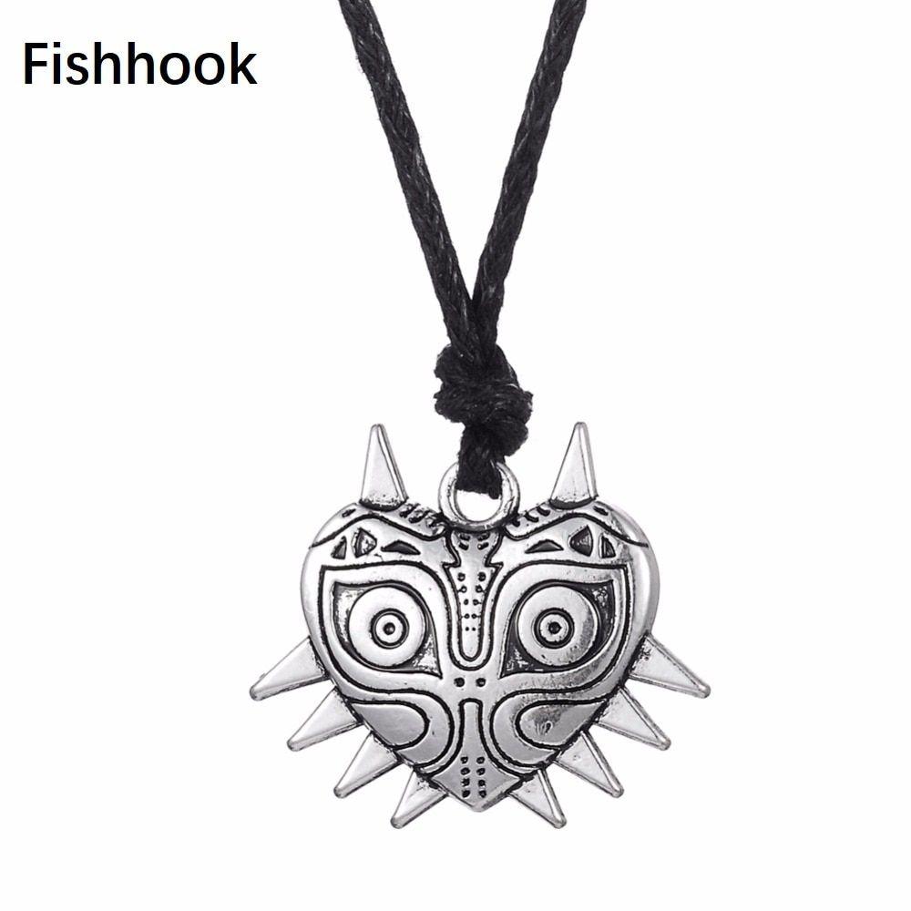 Find More Pendant Necklaces Information about Fishhook Majora's mask