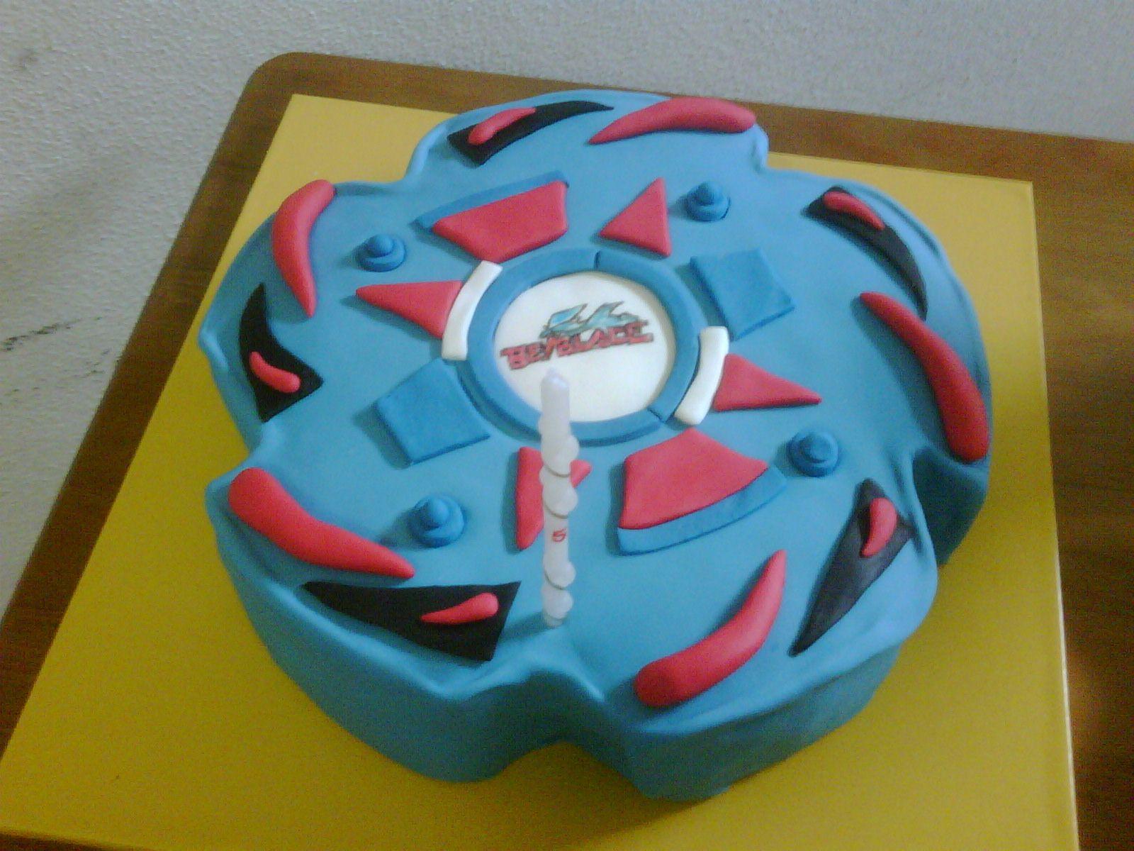 Beyblade birthday cake beyblade birthday beyblade cake