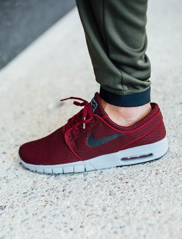 fb931742396 Nike SB Stefan Janoski Max  Team Red Wolf Grey