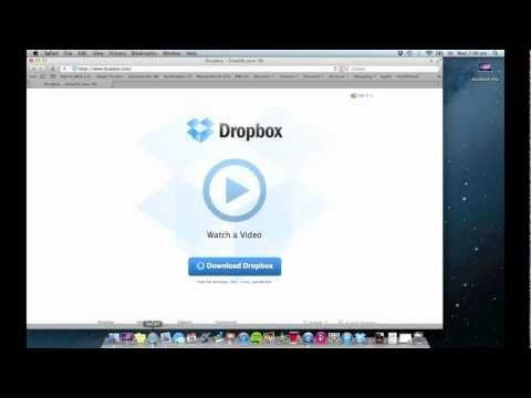 App Wednesday Dropbox for Mac Review How To YouTube video