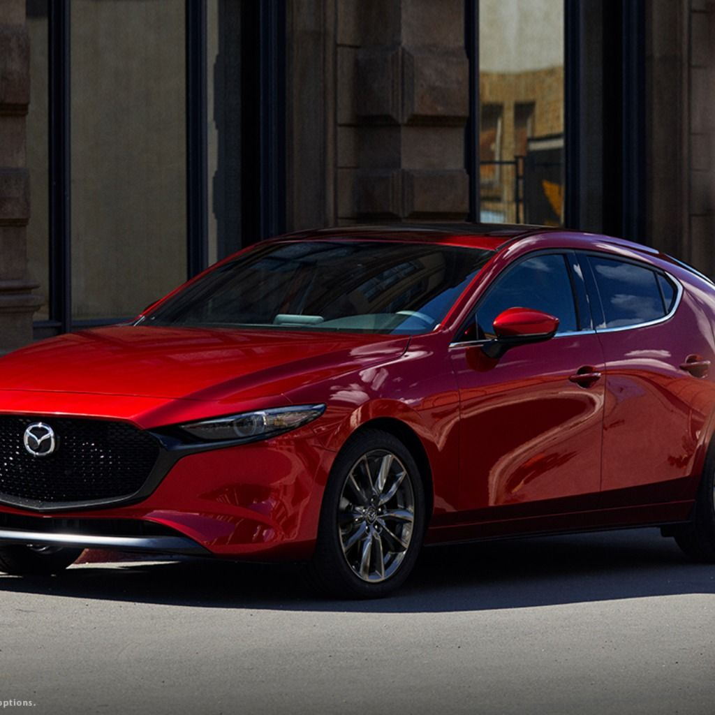 HiRes Images of the 2019 Mazda3 Hatchback AWD