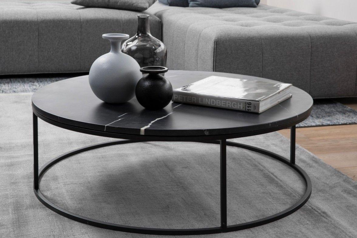 - Onix, Black Marble Coffee Table Maison Corbeil