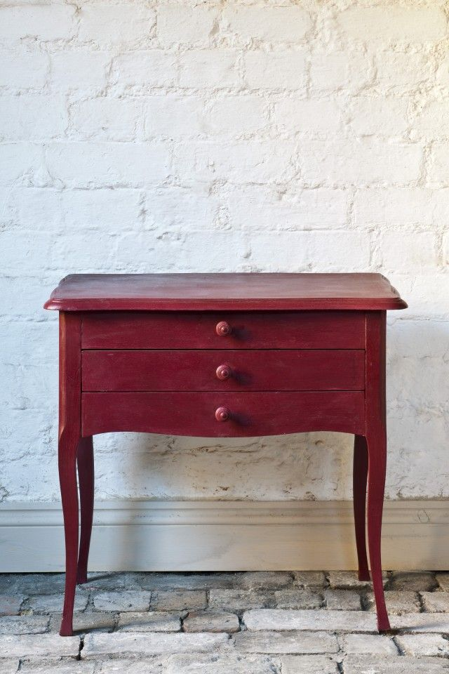 Pantone colour of the Year Marsala inspires new paint shade - Annie Sloan Chalk Paint