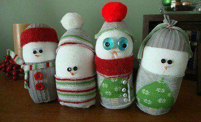 50 Amazing Snowman Craft Ideas Feltmagnet Holiday Pinterest