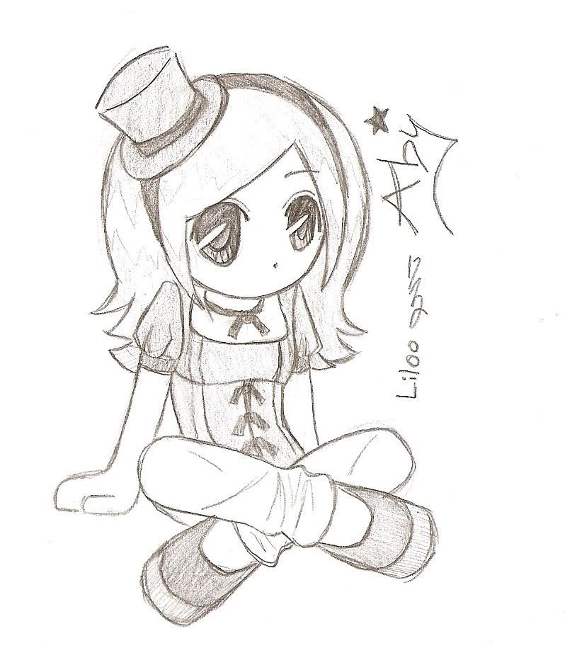 Anime sketches chibi aby by liloo drawings on deviantart