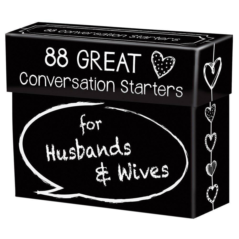Interactive Wedding Ideas: Conversation Starters For Husbands & Wives