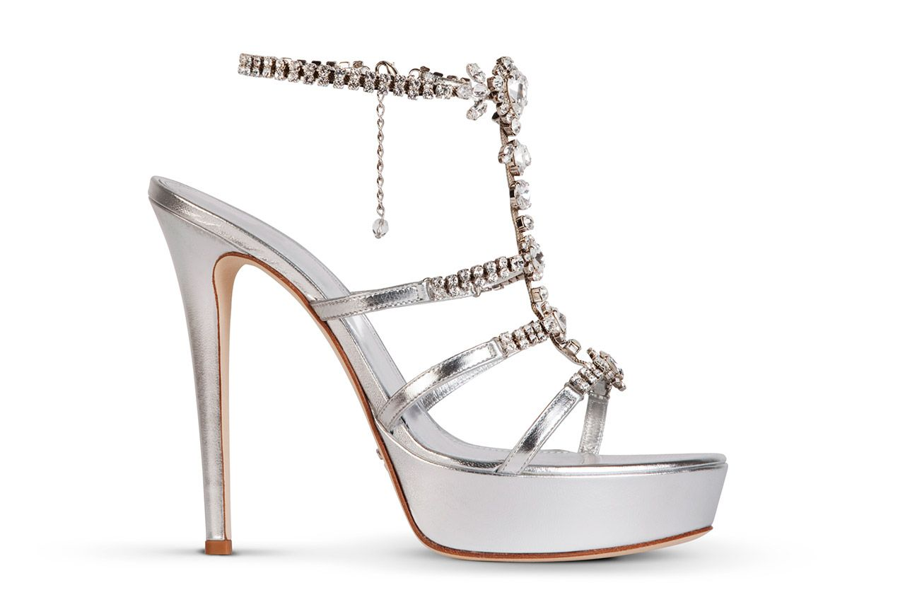 Scarpe Gioiello Sposa Online.Sandalo Gioiello 1276 Mascia Mandolesi Scarpe Da Sposa E