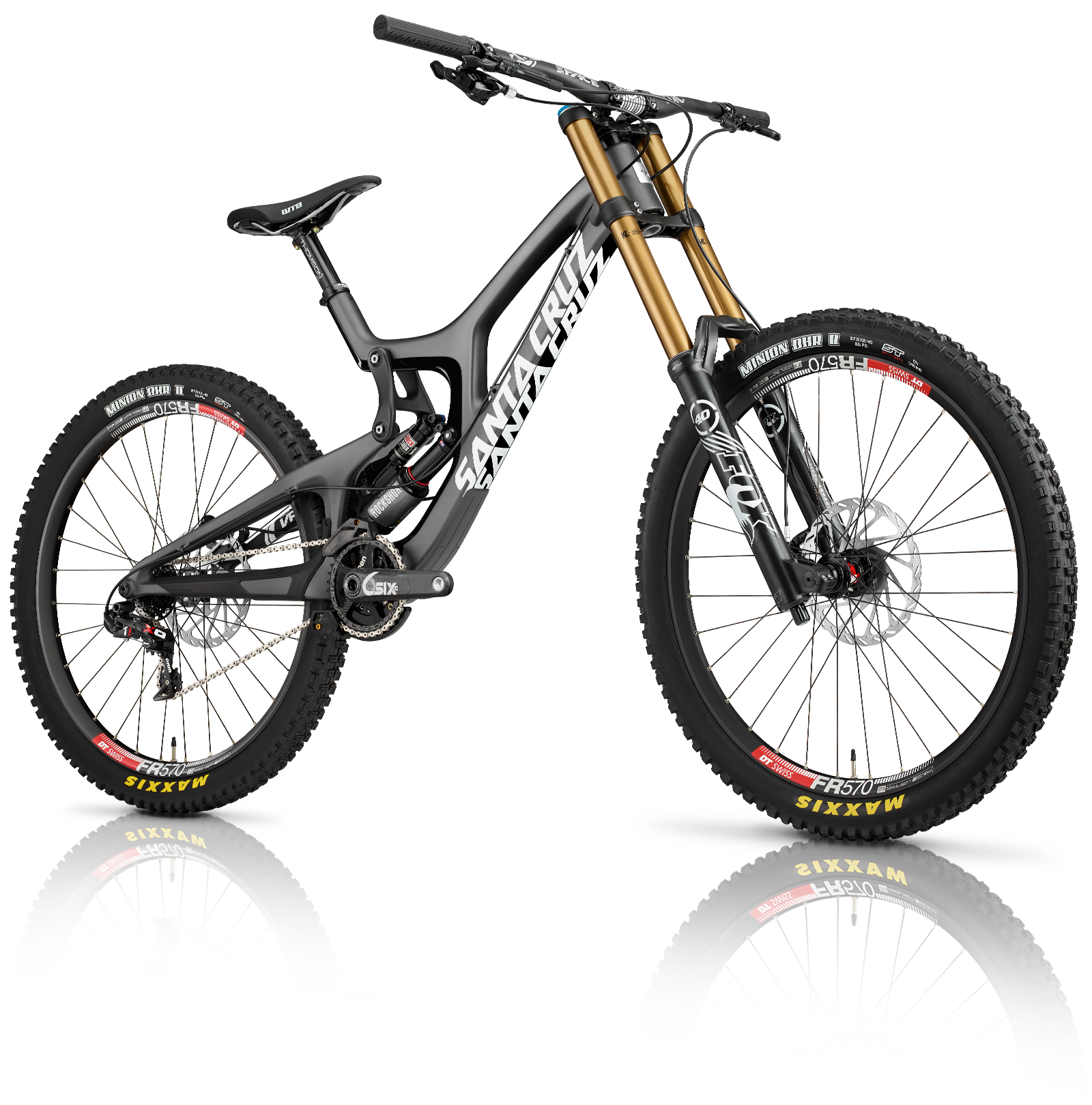 News Santa Cruz Releases All New V10 Carbon Downhill Bike In 2020