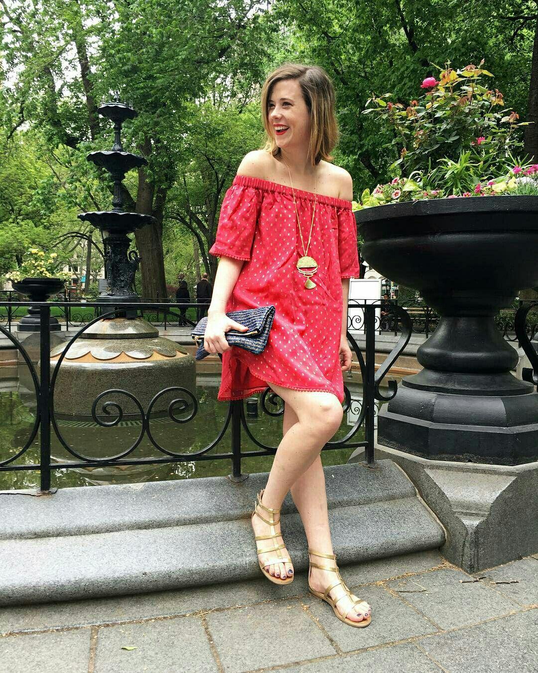 Mini vestido de verão @anthro_fifthavenue