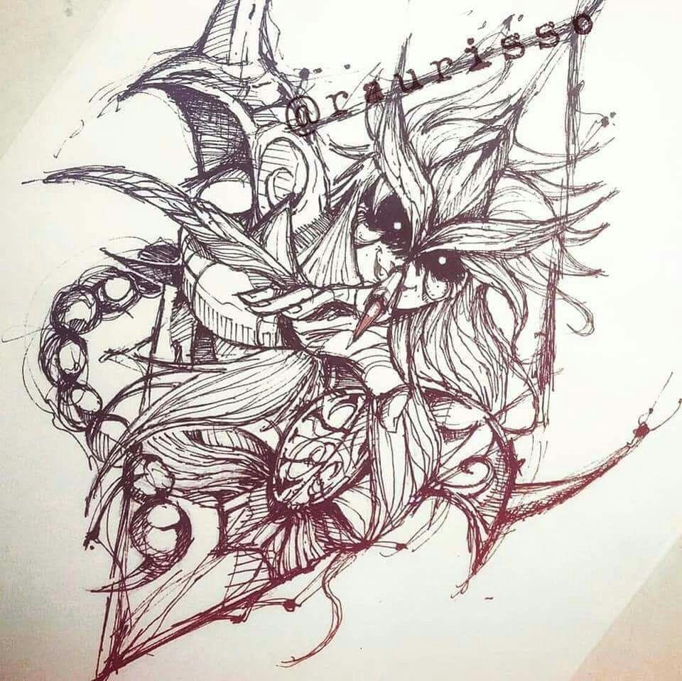 Dibujo De Un Escorpion Dorado escorpio | milo de escorpio, tatuajes de animes, tatuaje de