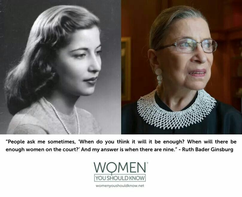 Pin By Kate Beard On The More Things Change Ruth Bader Ginsburg Powerful Women Ruth Bader Ginsburg Quotes