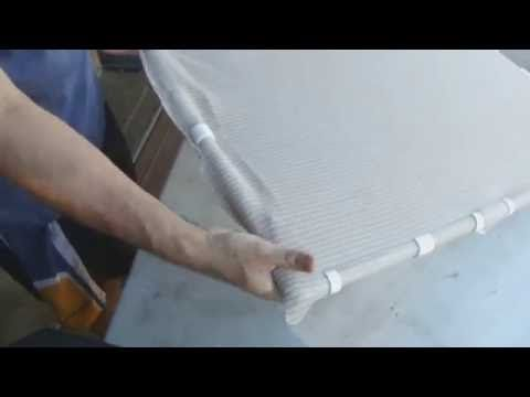 5) Making PVC Snap Clips to hold shade cloth on PVC frame - YouTube ...