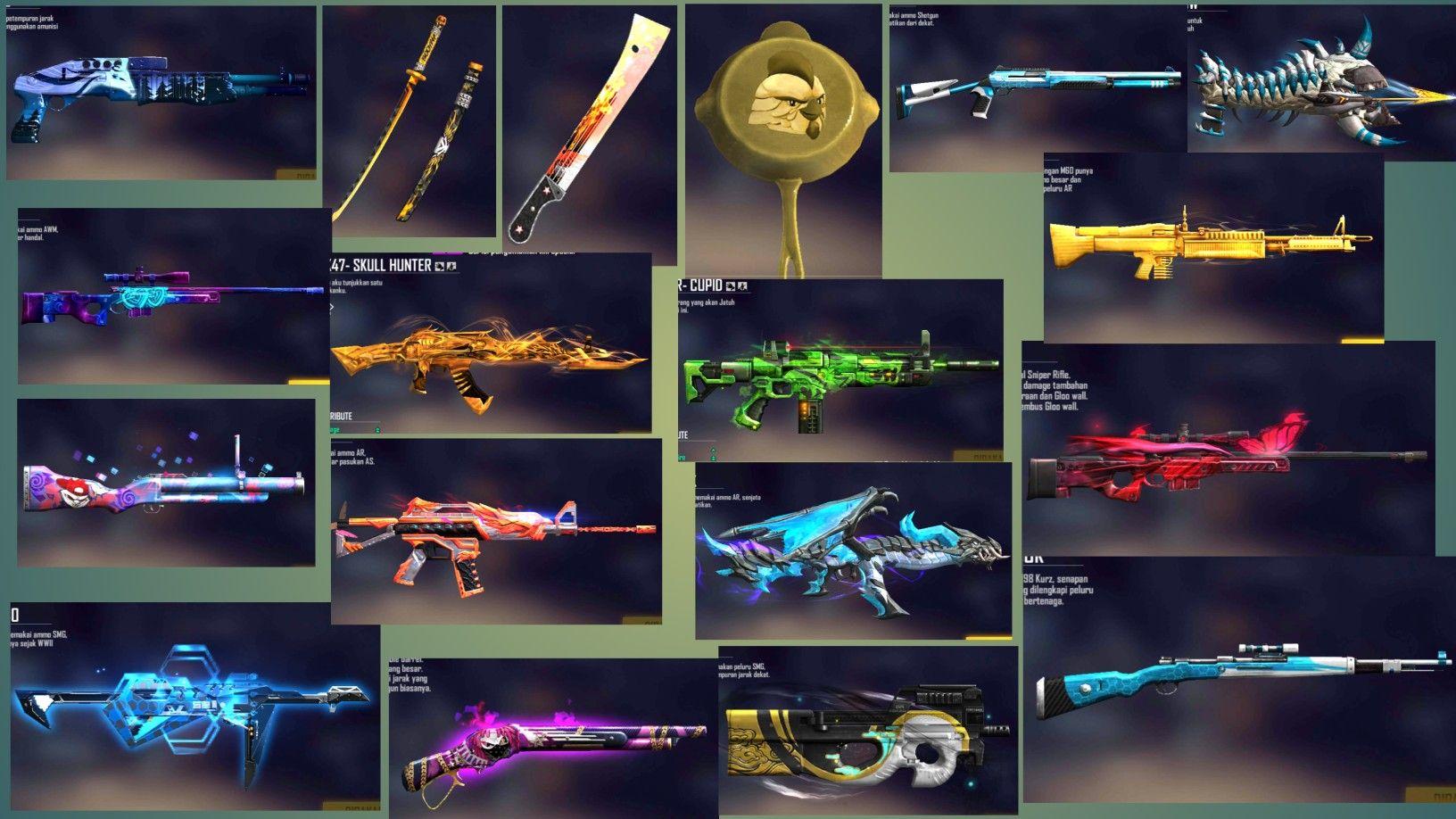 Skins Gratis Free Fire Config Senjata Ff Update Terbaru 1 54 2 Gratis Games Skin