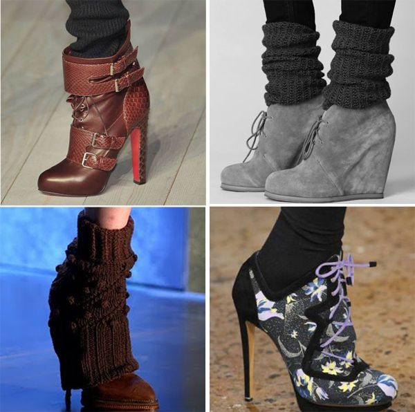 Fashion Socks with Heels | Stylish Ways of Wearing Socks with Shoes