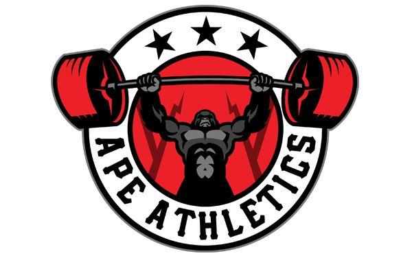 Ape Athletics On Behance Gym Logo Sports Logo Design Apes