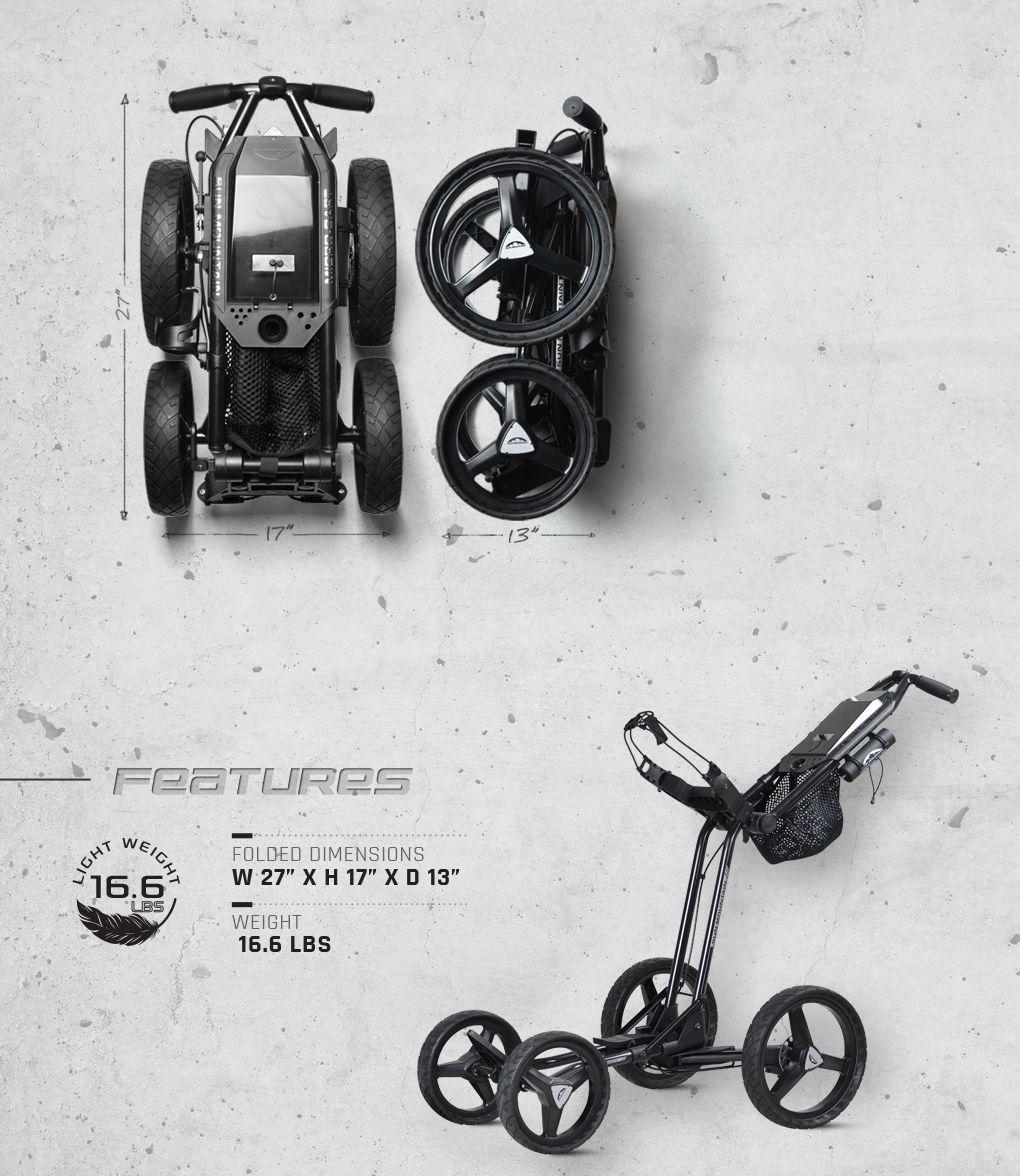 Micro Cart Gt Push Golf Carts The Newest Version Of Our Popular Micro Cart The Micro Cart Gt Has Numerous Improvements Golf Push Cart Golf Bags Golf Carts