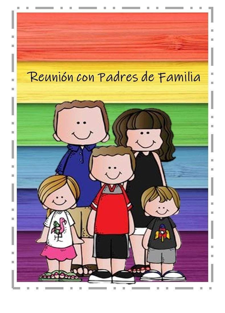 Reunion Con Padres De Familia Padres De Familia Maestros De Preescolar Imagenes Para Maestros
