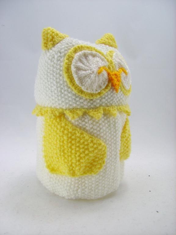 Owl Toilet Roll Cover Knitting Pattern | Pinterest | Knitting ...