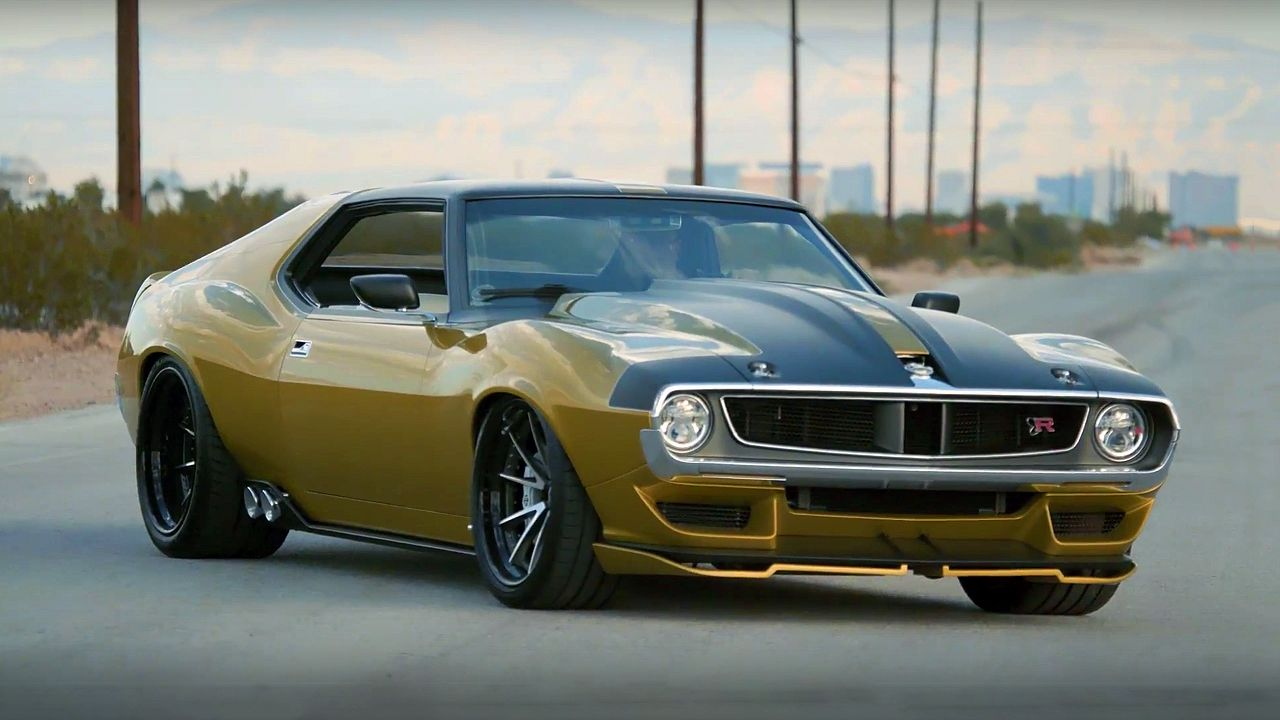 The Story Behind Ringbrothers 1972 Amc Javelin Amx Defiant Amc Javelin Cool Sports Cars Muscle Cars