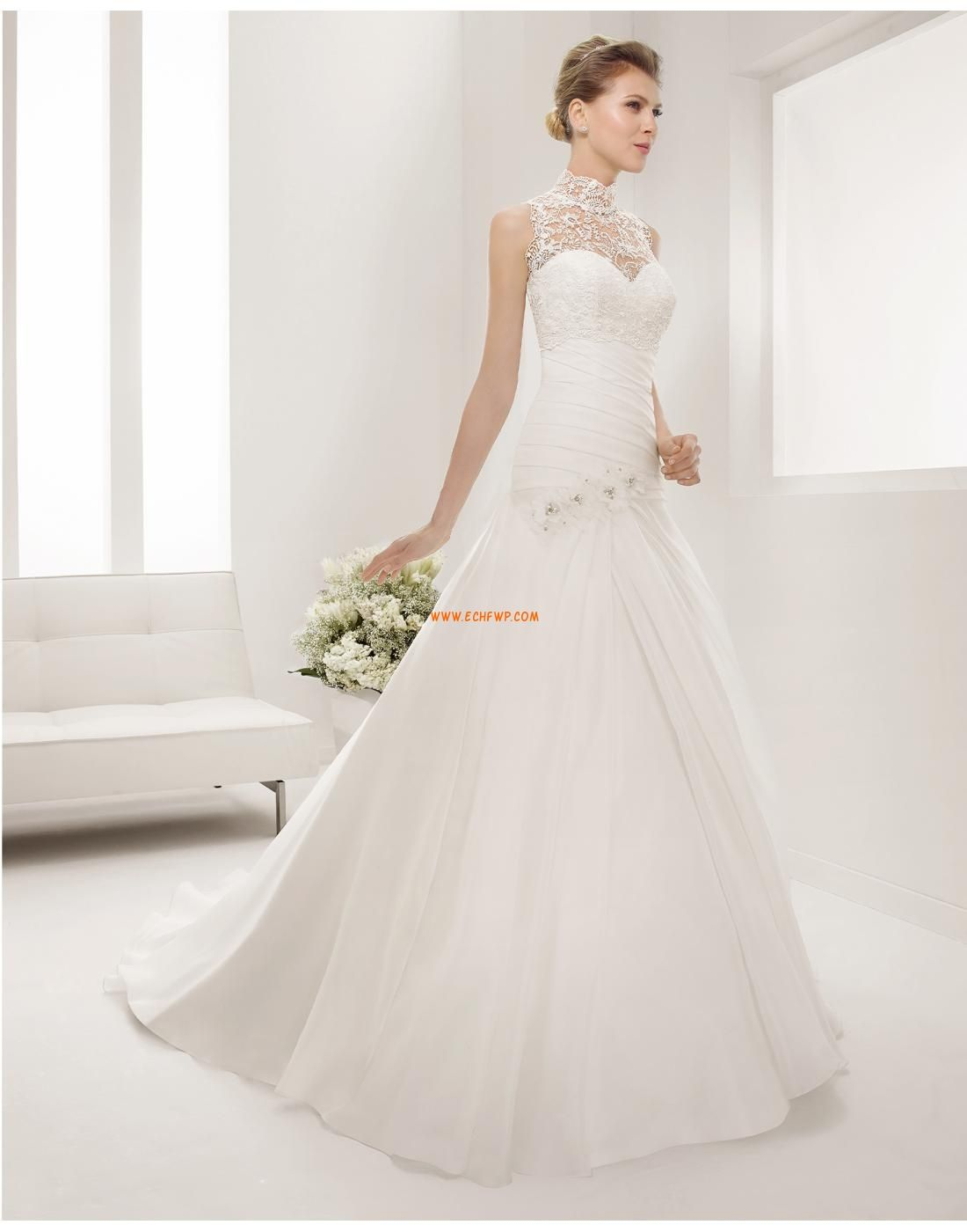 3/4 Arm Spitze Empire Brautkleider 2015   Hochzeitskleider ...