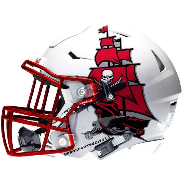 Prosportsedits14 On Instagram Tampa Bay Buccaneers Tampabay Tampa Tb Buccaneers Bucs Tam Cool Football Helmets Football Helmets Football Helmet Design