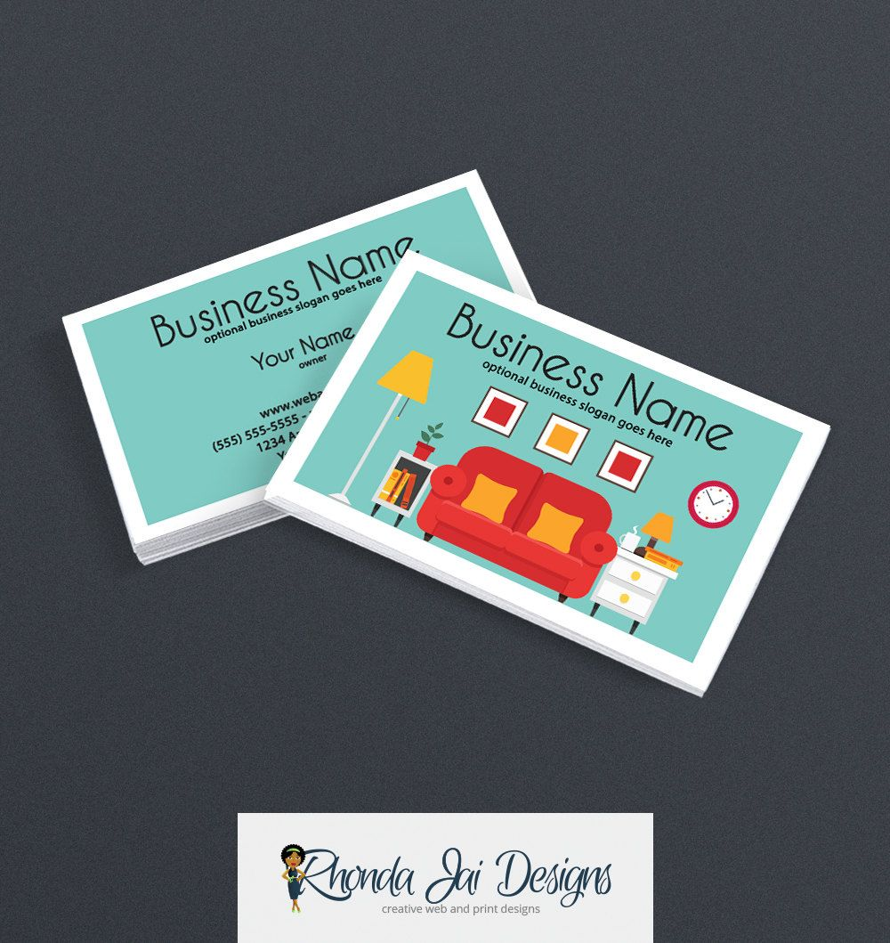 Business Card Designs 2 Sided Printable Business Card