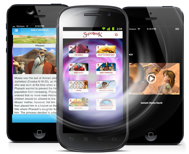 Superbook Bible, Videos and Games App... This Free iPhone
