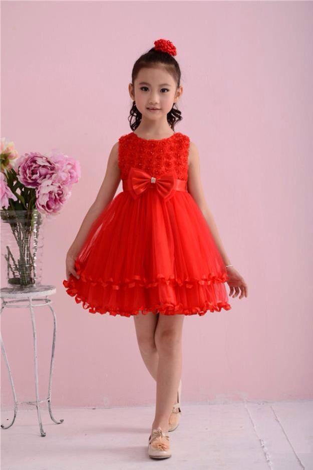 Lind@Astrid.vestido de niña rojo | infantil | Pinterest | Vestidos ...