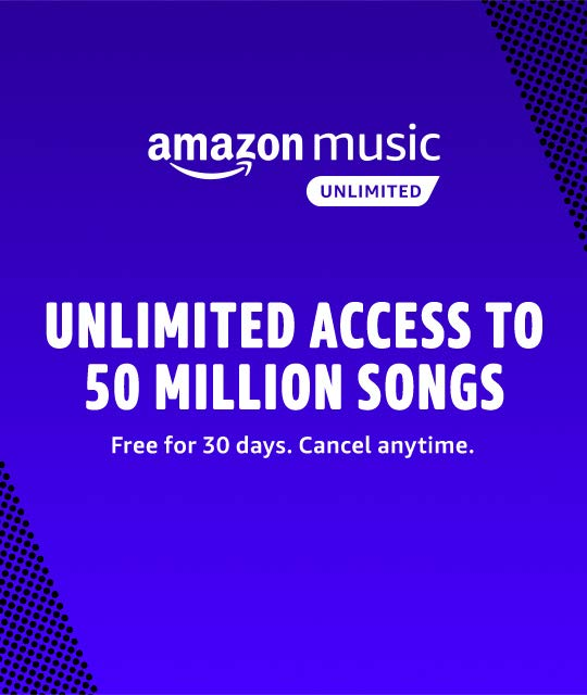 Amazon Com Amazon Music Unlimited Songs Free Amazon Products