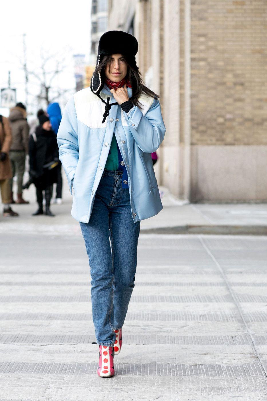 #LeandraMedine in Valentino booties. NYC