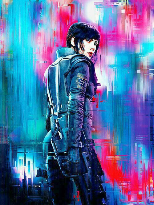 Ghost In The Shell 2017 Major Motoko Kusanagi 攻殻機動隊2017 草薙素子 少佐 Ghost In The Shell Scarlett Johansson Ghost Ghost